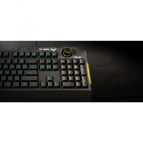 TUF K1 Gaming Keyboard Alternate-Image2/500