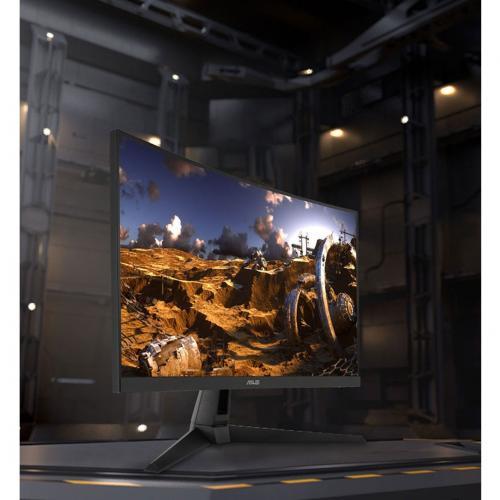 "Asus VG27WQ1B 27"" WQHD Curved Screen Gaming LCD Monitor   16:9 Alternate-Image2/500"