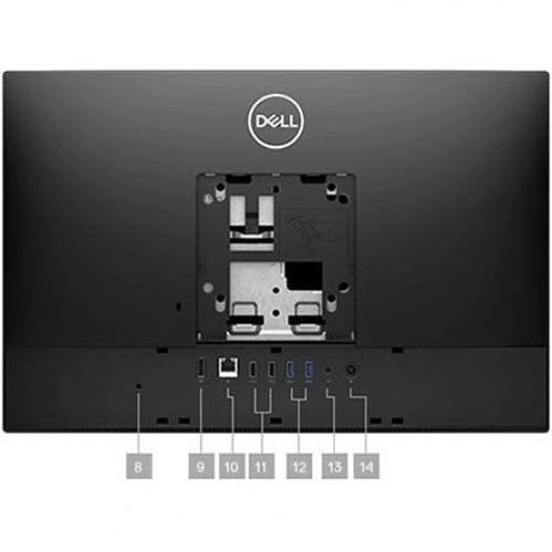 "Dell OptiPlex 3000 3280 All In One Computer   Intel Core I5 10th Gen I5 10500T Hexa Core (6 Core) 2.30 GHz   8 GB RAM DDR4 SDRAM   256 GB SSD   21.5"" Full HD 1920 X 1080   Desktop Alternate-Image2/500"