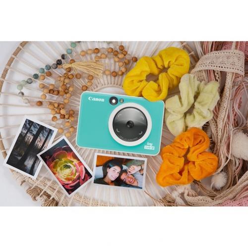 Canon IVY CLIQ 5 Megapixel Instant Digital Camera   Turquoise Alternate-Image2/500