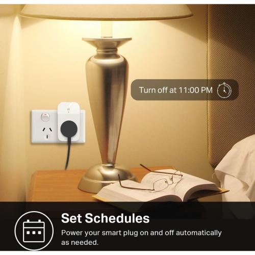 Kasa Smart WiFi Plug Slim With Energy Monitoring Alternate-Image2/500