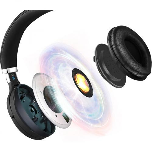 Xtream P600   Bluetooth Active Noise Cancellation Headphone With Built In Microphone Alternate-Image2/500