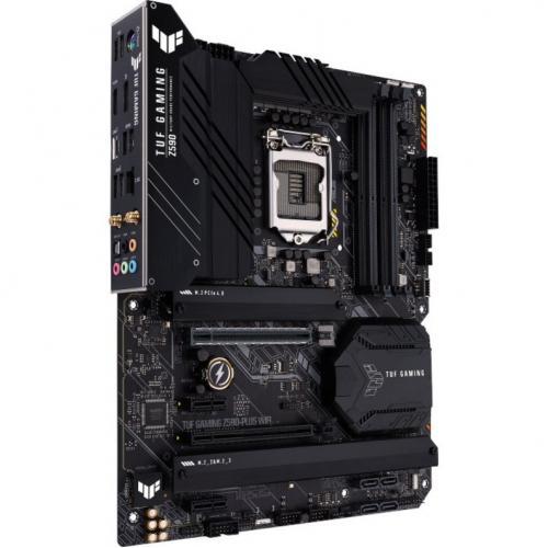TUF GAMING Z590 PLUS WIFI Desktop Motherboard   Intel Chipset   Socket LGA 1200   Intel Optane Memory Ready   ATX Alternate-Image2/500