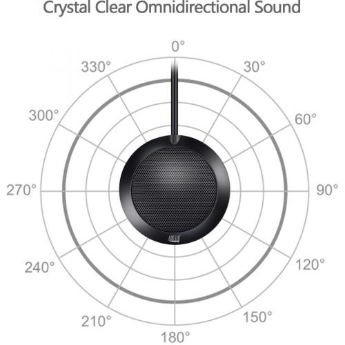 Adesso Xtream M3 Wired Condenser Microphone Alternate-Image2/500