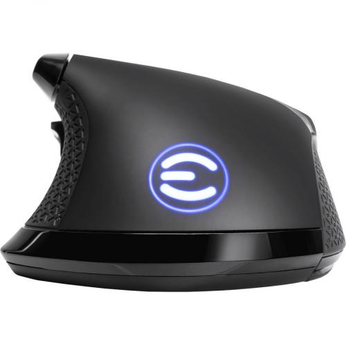 EVGA X17 Wired Customizable Gaming Mouse   USB Cable Interface   16000 Dpi Movement Resolution   10 Total Buttons   5 Customizable On Board Profiles   50 Million Clicks Lifecycle Alternate-Image2/500