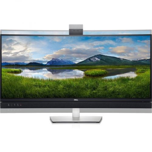 """Dell C3422WE 34.1"""" WQHD Curved Screen Edge WLED LCD Monitor   21:9   Platinum Silver Alternate-Image2/500"""