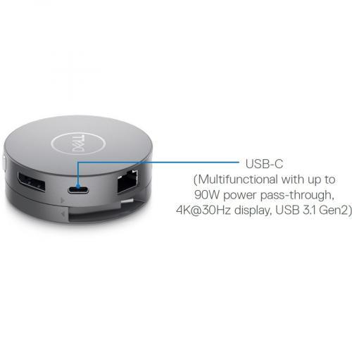 Dell DA310 USB C Mobile Adapter Alternate-Image2/500