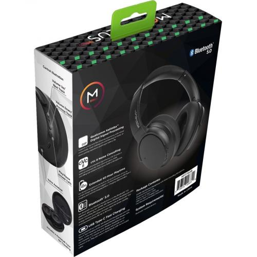 Morpheus 360 Aspire 360 HP7750B Wireless Over Ear Headphones   Bluetooth 5.0 Headset With Microphone Alternate-Image2/500