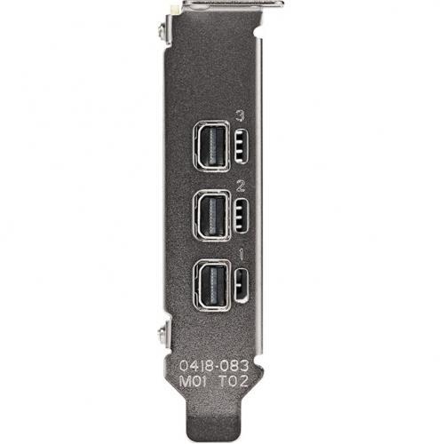 PNY NVIDIA T400 Graphic Card   2 GB GDDR6   Low Profile Alternate-Image2/500
