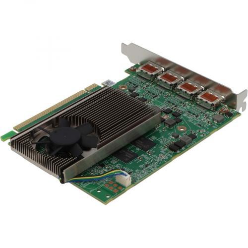 VisionTek AMD Radeon RX 550 Graphic Card   4 GB GDDR5   Full Height Alternate-Image2/500