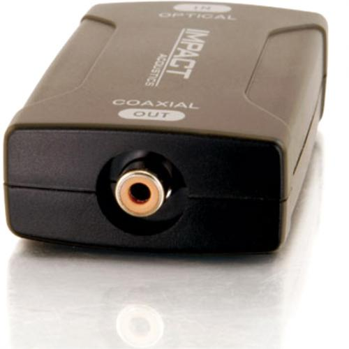 C2G Optical To Coaxial Digital Audio Converter Alternate-Image2/500