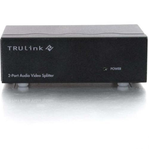 C2G 2 Port UXGA Monitor Splitter/Extender With 3.5mm Audio (Female Input) Alternate-Image2/500
