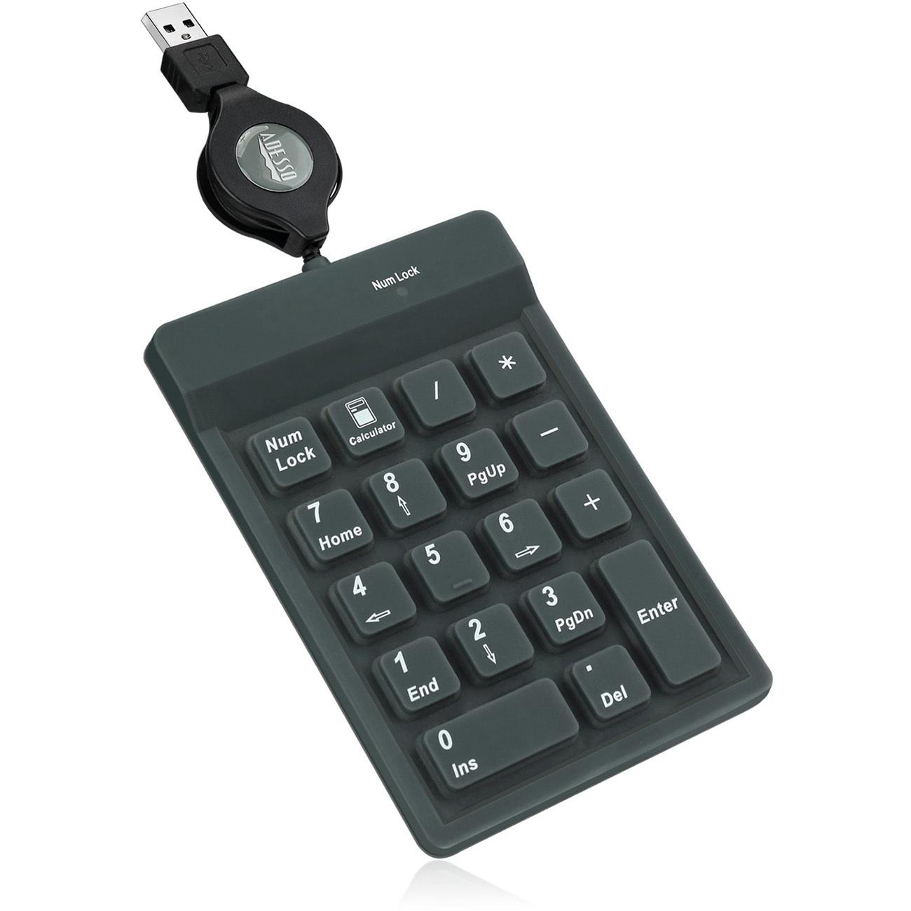 Adesso AKP 218 18 Key Waterproof Key Pad Alternate-Image3