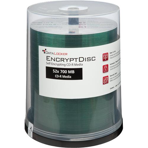 DataLocker EncryptDisc DLDVD100 DVD Recordable Media   DVD R   4.70 GB   100 Alternate-Image3/500