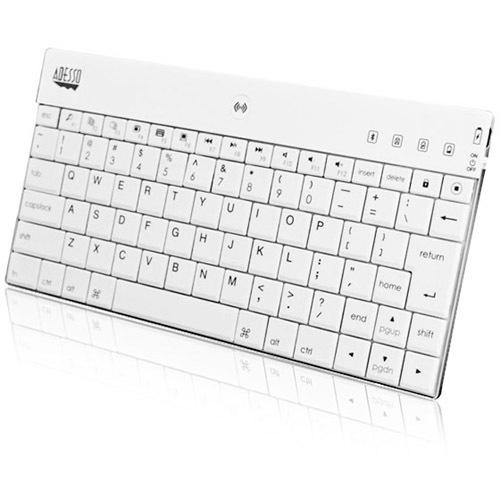Adesso WKB 1000BW Bluetooth Mini Keyboard 1000 For IPad (white) Alternate-Image3/500