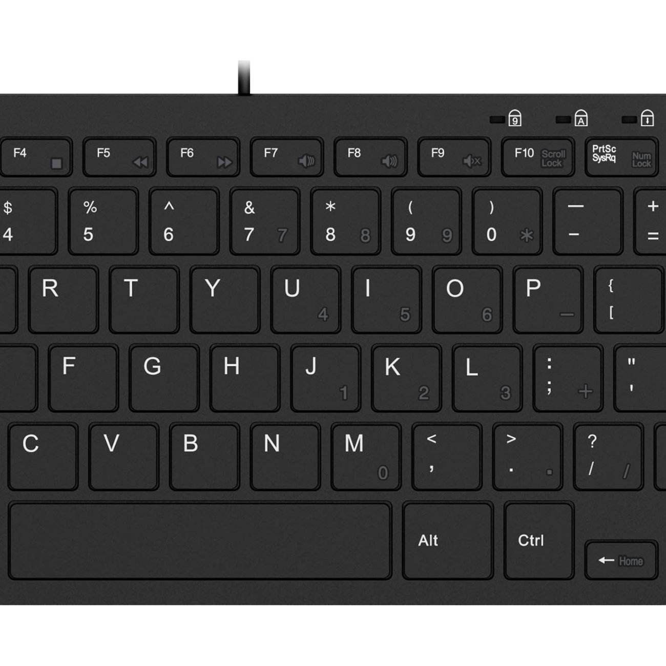 Adesso SlimTouch 510   Mini Keyboard With USB Hubs Alternate-Image3