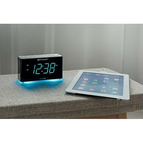 Emerson SmartSet ER100301 Desktop Clock Radio Alternate-Image3/500