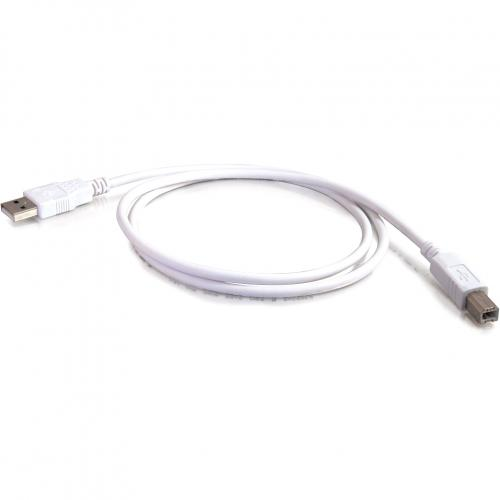 C2G 5m USB Cable   USB A To USB B Cable Alternate-Image3/500