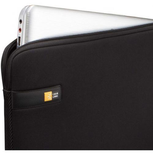 "Case Logic LAPS 114 Carrying Case (Sleeve) For 14"" Notebook   Black Alternate-Image3/500"