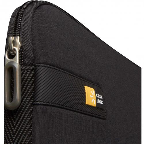 "Case Logic LAPS 116 Carrying Case (Sleeve) For 15"" To 16"" Notebook   Black Alternate-Image3/500"