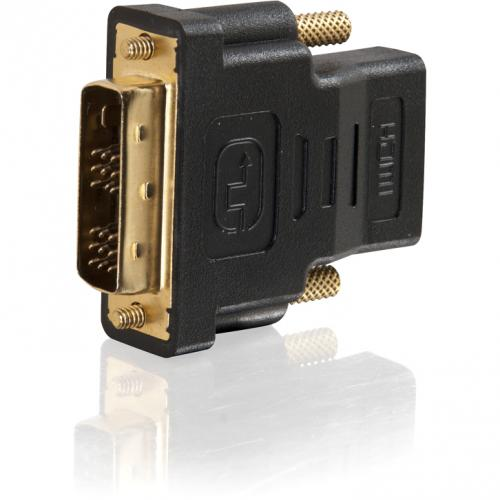 C2G DVI D To HDMI Adapter   Inline Adapter   Male To Female Alternate-Image3/500