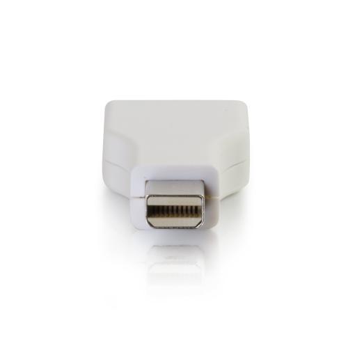 C2G Mini DisplayPort To DisplayPort Adapter   Mini DP To DP   M/F White Alternate-Image3/500