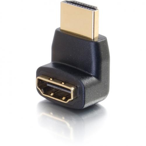 C2G HDMI To HDMI 90° Up Adapter   Male To Female Alternate-Image3/500