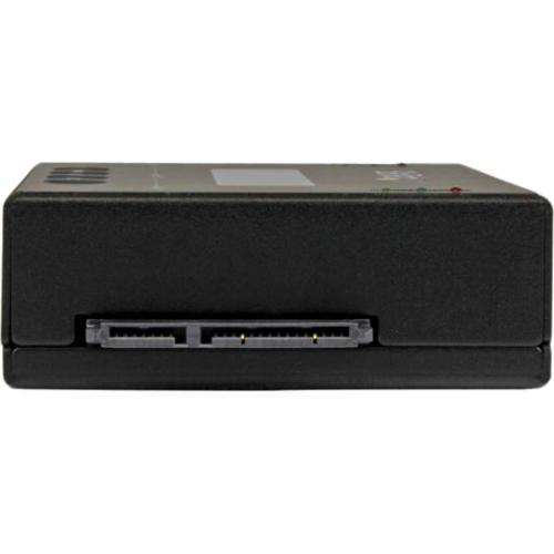 "StarTech.com Standalone 2.5 / 3.5"" SATA Hard Drive Duplicator W/ Multi HDD / SSD Image Backup Library Alternate-Image3/500"