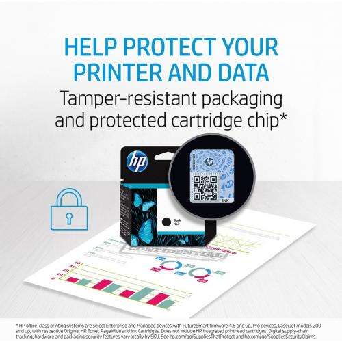 HP 972A | PageWide Cartridge | Yellow | Works With HP PageWide Pro 452 Series, 477 Series, 552dw, 577 Series | L0R92AN Alternate-Image3/500