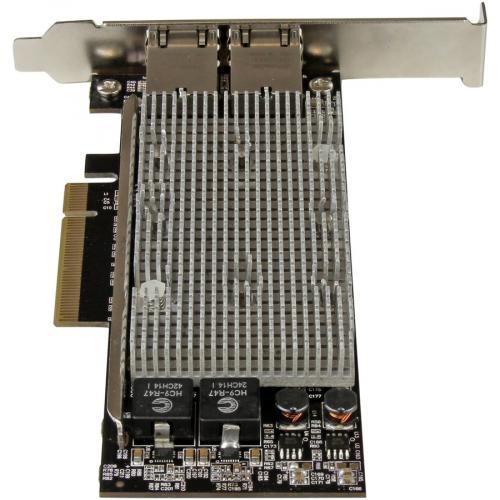 StarTech.com 10G Network Card ? 2 Port ? NBASE T ? RJ45 Port ? Intel X550 Chipset ? Ethernet Card ? Intel NIC Card Alternate-Image3/500