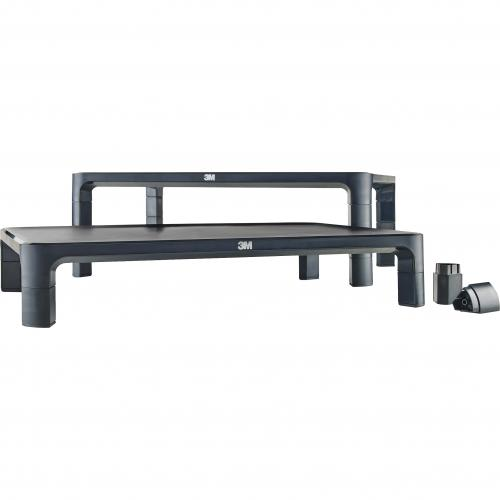 3M Adjustable Monitor Stand For Monitors And Laptops Alternate-Image3/500
