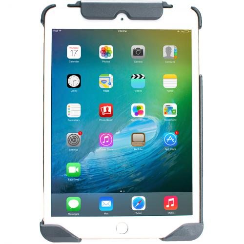 CTA Digital Anti Theft Case With Built In Grip Stand For IPad Mini Alternate-Image3/500