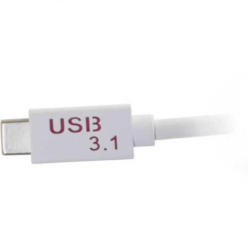 C2G USB C To DisplayPort Adapter Alternate-Image3/500