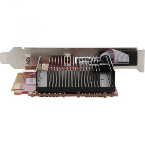VisionTek Radeon 5450 2GB DDR3 (DVI I, HDMI, VGA) Alternate-Image3/500