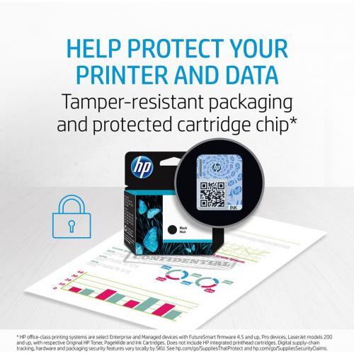 HP 952XL Ink Cartridge, Black (F6U19AN) Alternate-Image3/500