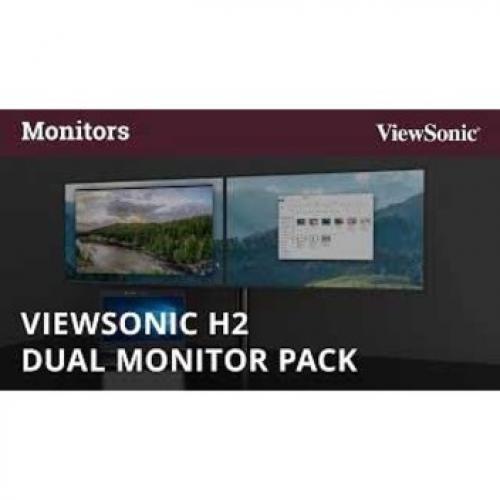 "Viewsonic VA2452Sm H2 24"" Full HD LED LCD Monitor   16:9 Alternate-Image3/500"