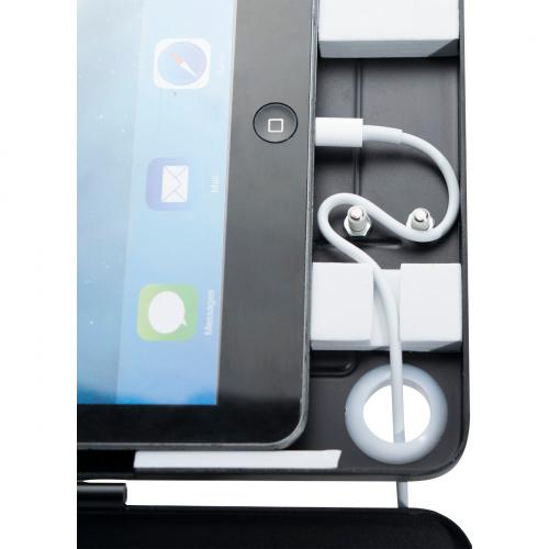 CTA Digital Dual Security Kiosk Stand Ipad And Ipad Air Black Alternate-Image3/500
