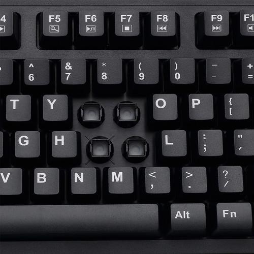 Adesso EasyTouch 630UB   Antimicrobial Waterproof Keyboard Alternate-Image3/500