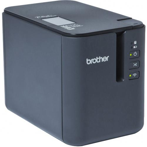 Brother P Touch PT P900W Thermal Transfer Printer   Monochrome   Desktop   Tape Print Alternate-Image3/500