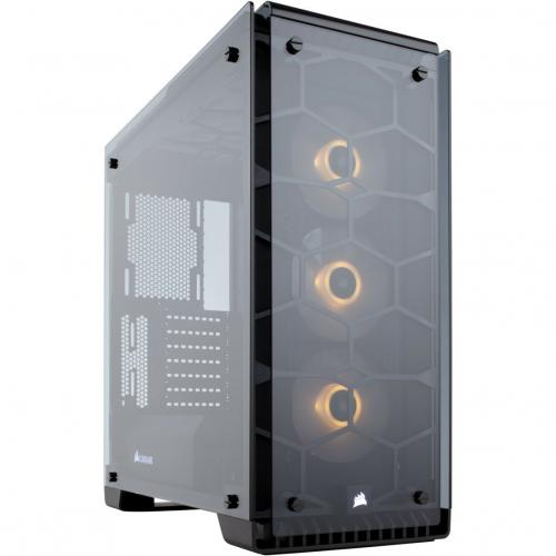 Corsair Crystal Series 570X RGB ATX Mid Tower Case Alternate-Image3/500