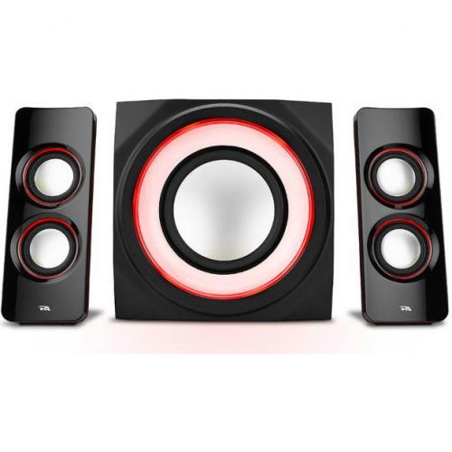 Cyber Acoustics Curve CA 3712BT 2.1 Bluetooth Speaker System   Black Alternate-Image3/500