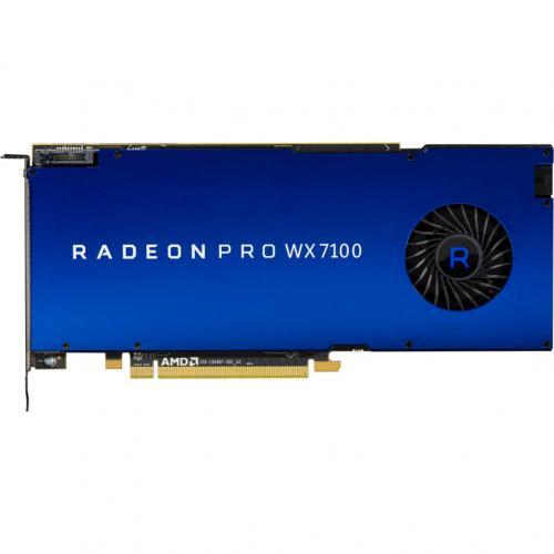 AMD Radeon Pro WX 7100 Graphic Card   2304 Stream Processors   8 GB GDDR5 Memory   1.19 GHz Core   256 Bit Memory Interface   4 X DisplayPort 1.4 Alternate-Image3/500
