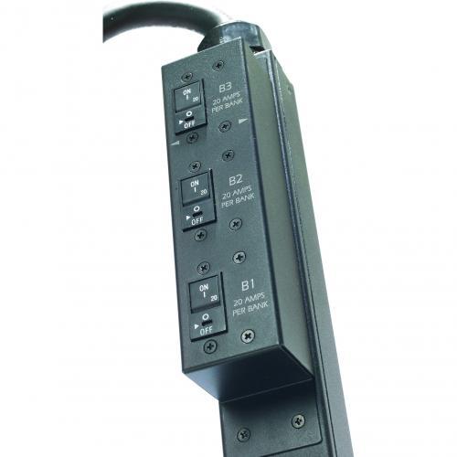 APC By Schneider Electric Rack PDU, Switched, Zero U,12.5kW,208V,(21)C13&(3)C19; 10' Cord Alternate-Image3/500