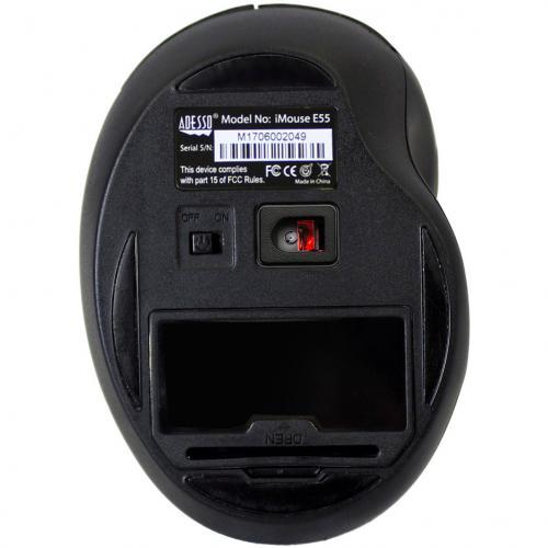 Adesso IMouse E55 2.4GHz RF Wireless Vertical Ergonomic Mouse Alternate-Image3/500