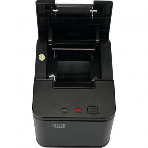 Adesso NuPrint 210 Direct Thermal Printer   Monochrome   Desktop   Receipt Print Alternate-Image3/500