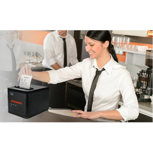 Adesso NuPrint NuPrint 310 Direct Thermal Printer   Monochrome   Desktop   Receipt Print Alternate-Image3/500