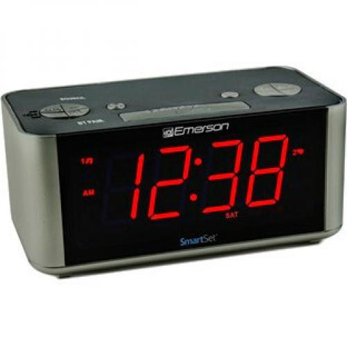 Emerson SmartSet ER100201 Desktop Clock Radio Alternate-Image3/500