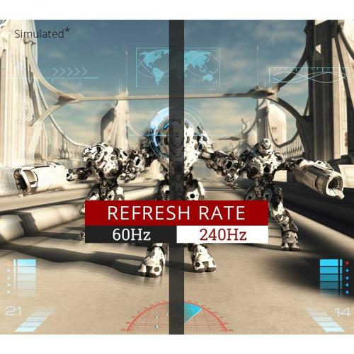 "Viewsonic XG2560 24.5"" Full HD WLED Gaming LCD Monitor   16:9   Black Alternate-Image3/500"