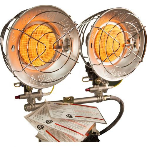 DuraHeat TT 30CSA Propane(LP) Double Tank Top Heater With Tip Over Shut Off Alternate-Image3/500