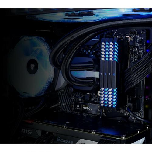Corsair Crystal 570X RGB Mirror Black Tempered Glass, Premium ATX Mid Tower Case Alternate-Image3/500